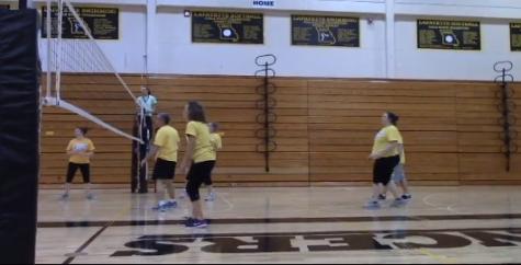 Rockwood teacher volleyball game brings fun for teachers