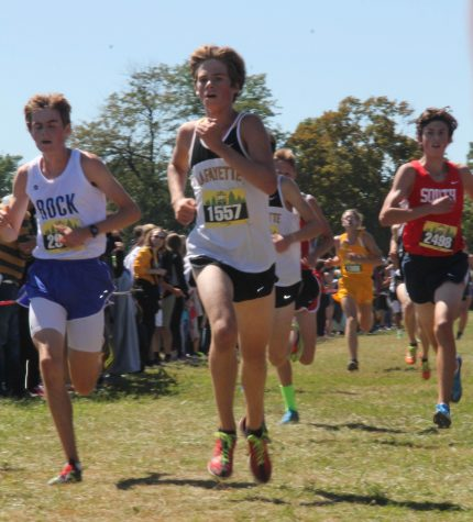Another one: Lafayette boys cross country takes first at Paul Enke Invitational