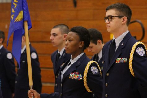 ROTC exceeds expectations in recent inspection