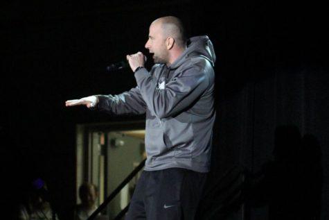 Beaver loses himself rapping at APA