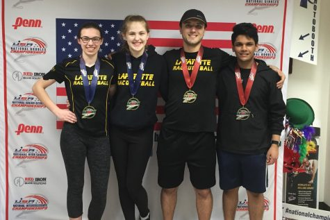 Racquetball team places seventh at national competition