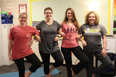 Yoga helps teachers with health, stress