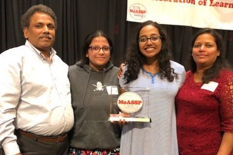 Pitchyaiah attends Missouri 100 Scholars luncheon