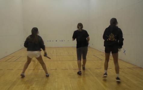 Teammates bond through Lafayette racquetball
