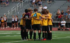 Boys Soccer plays rival Marquette in their fourth game of the season