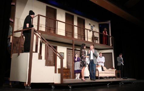 Tech crew tasked with building two-story set