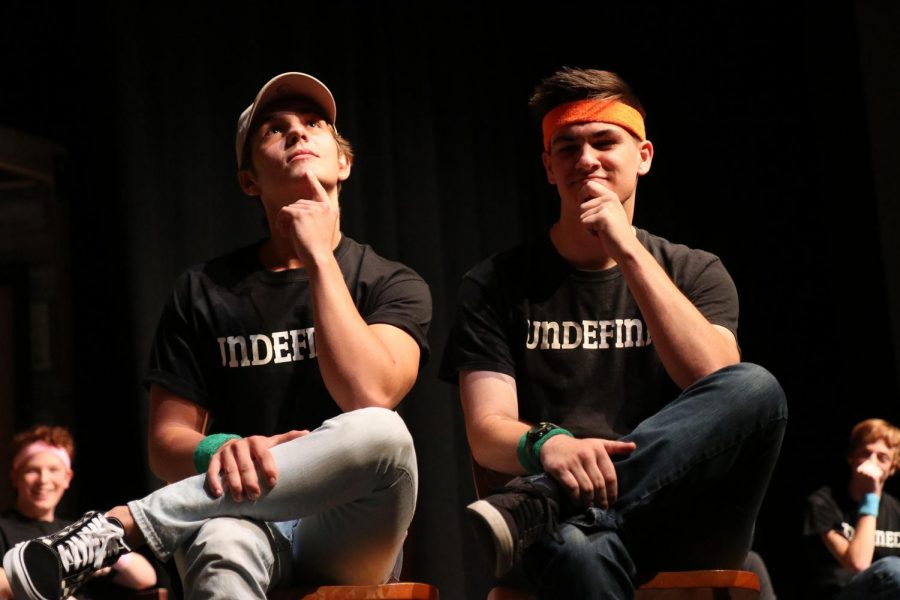 In previous years, Undefined has been able to hold shows multiple times throughout the school year. Last year, shows were even performed during FLEX time in the theater. This year, the team will be putting on their first shows since March of last year through a livestream.