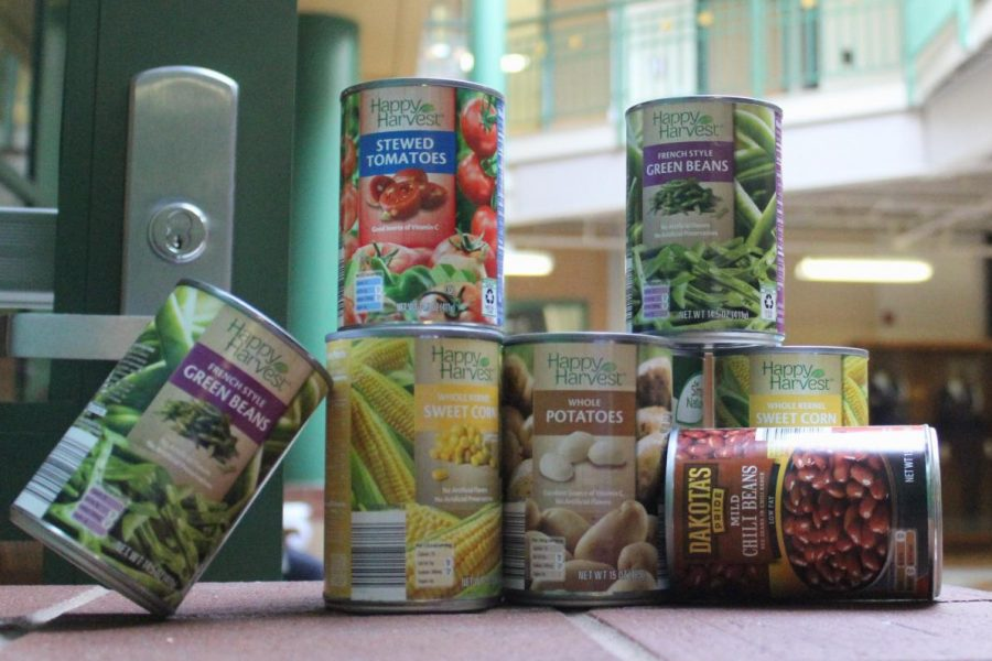 The Canned Food Drive is an event that takes place through the month of November. Students have the opportunity to donated canned food to those in need by bringing cans into their 1st Hour classes to receive rewards if certain goals are met.
