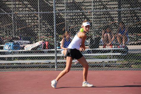 Ferguson earns second State medal for tennis