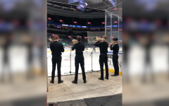 Ladue performs National Anthem at Blues game
