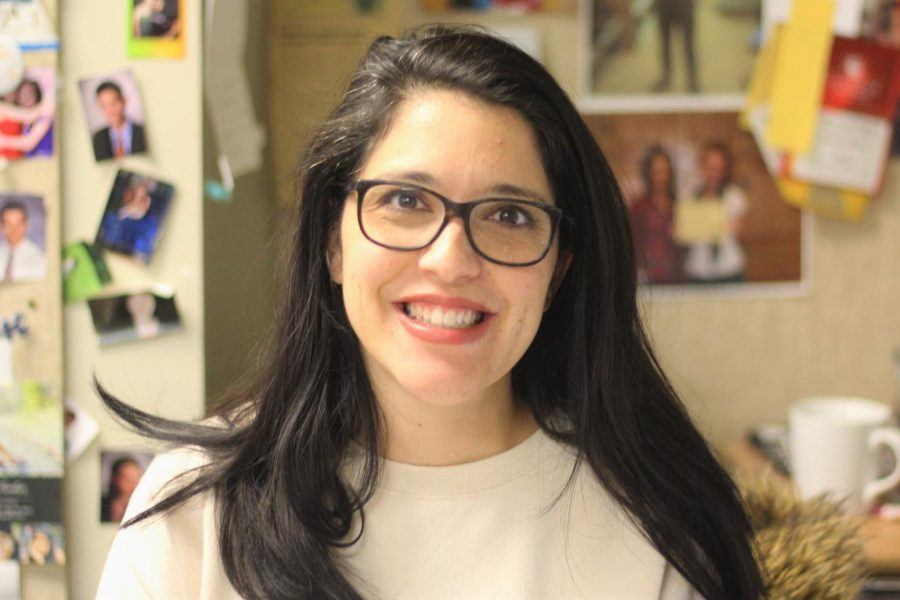 Natasha Fischer, theater teacher