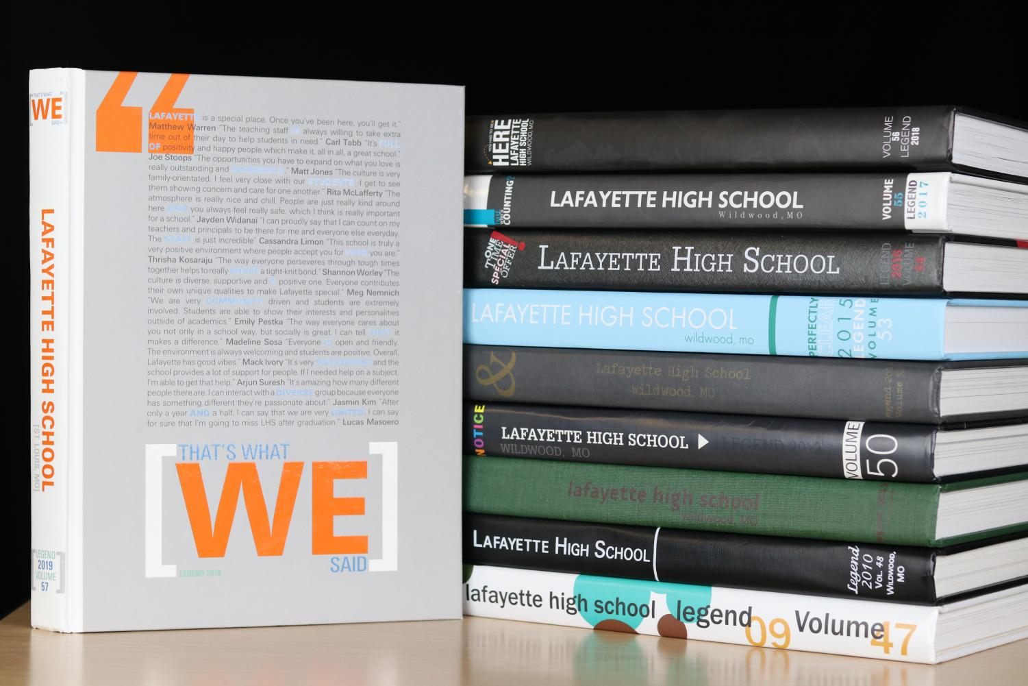 Lafayette's yearbook, the Legend, is the latest inductee into the National Scholastic Press Association's (NSPA) Hall of Fame.