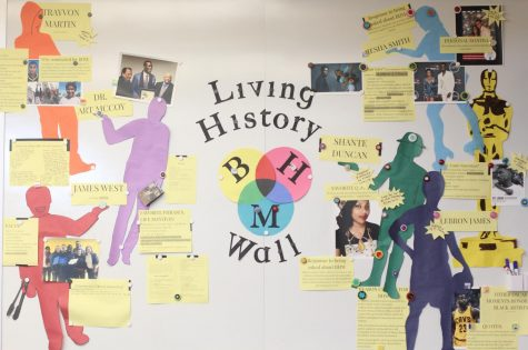 Benner celebrates Black History Month with door decorations