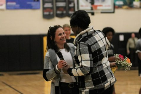 On Friday, Feb. 21 the Lafayette Lady Lancers basketball team hosted their first annual Shero Night, aimed to honor females who have made a positive impact in their lives.