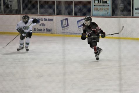 On February 22, Nick Hess had his last game of the season at the Affton Ice Rink, facing the Meramec Sharks.