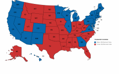 The final electoral map of the 2020 Presidential Election. Former Vice President Joe Biden has 306 Electoral Votes and Incumbent President Donald Trump has 232 Electoral Votes.