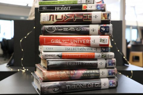 """Lafayette students and staff recommend ten books to encourage others to read. The list includes award winners such as """"Scythe"""" by Neal Shusterman and timeless classics such as """"Harry Potter and the Sorcerer"""