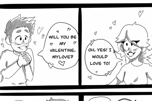Cartoon: Spreading Nothing But Love