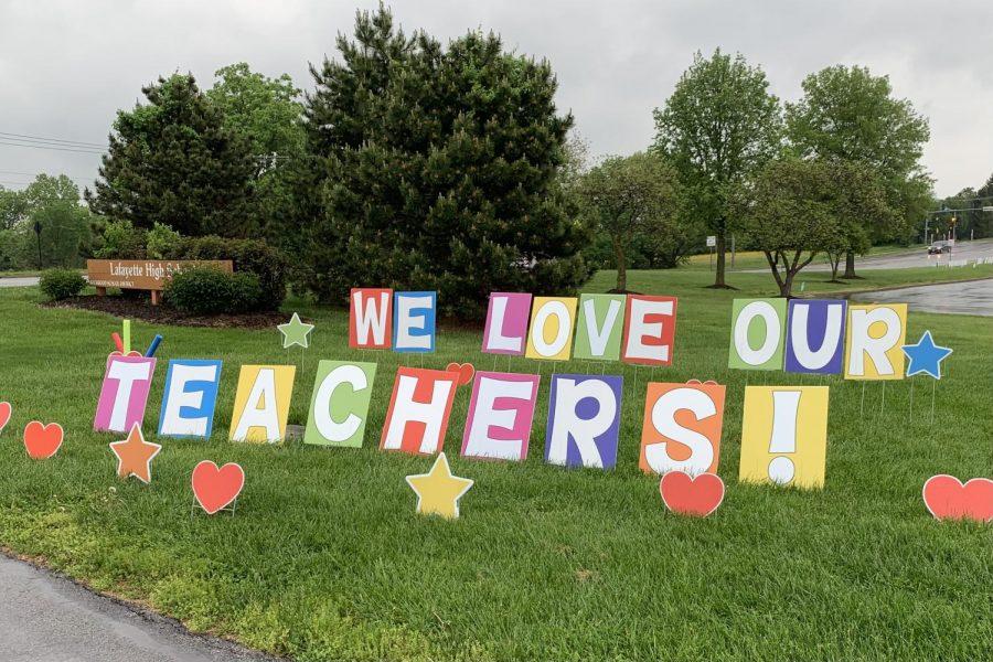 Staff, students celebrate Teacher Appreciation Week