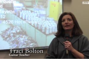 Traci Bolton sponsors Hot Wheel Challenge