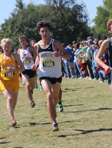 Boy's varsity cross country dominates in Memphis