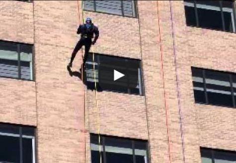 Update: Eric Kipp descends down Hyatt hotel in support of Special Olympics