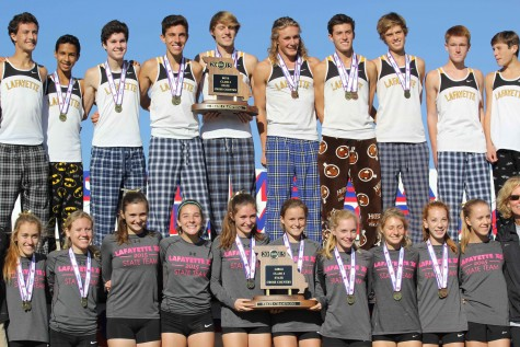 Boys, girls cross country win State championship titles