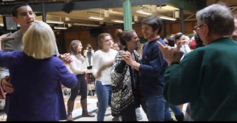 Student Council Turkey Dance creates joy for elderly
