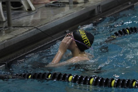 Girls swimming caps their season with a second place finish at state