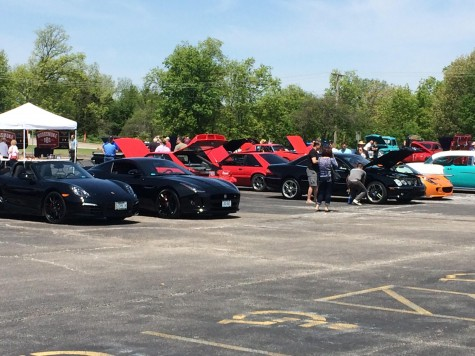 Car show at Lafayette to fund Renaissance