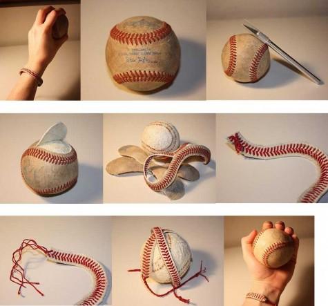 DIY: Baseball Bracelet