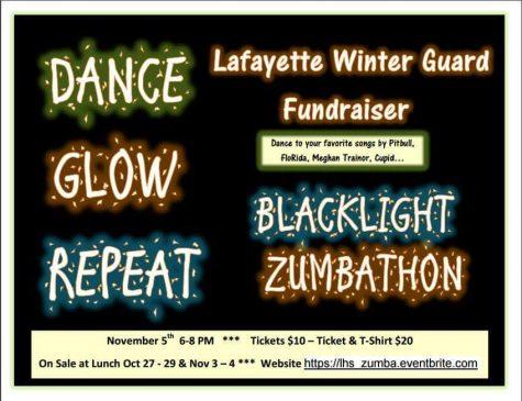 Winter Guard hosts Zumbathon fundraiser