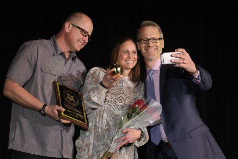 Denise Meyer recognized as Teacher of the Year