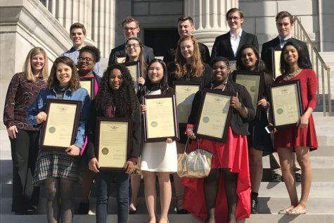 Glory of Missouri recognizes Lafayette students