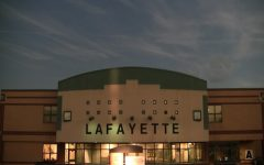 Eclipse time lapse over Lafayette