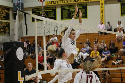 Lafayette takes on Eureka in intense rivalry match