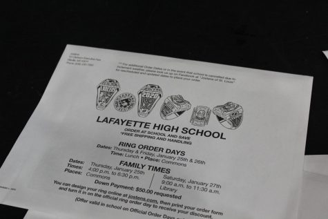 Class rings go on sale for sophomores