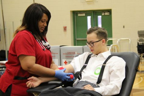 STUCO Blood Drive falls just short of 150 pint goal