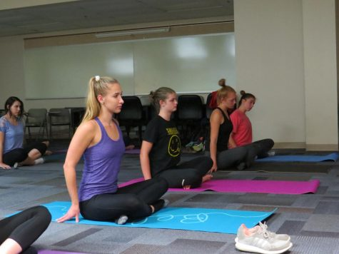 Sophomore students initiate Yoga Club