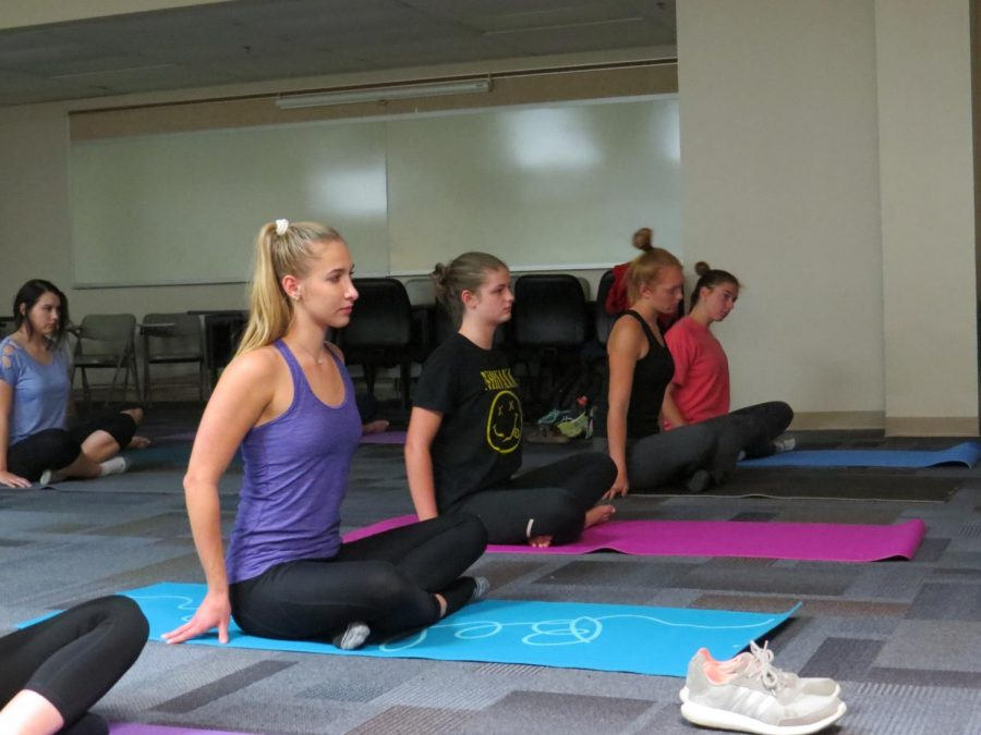 Sophomore students initiate Yoga Club - The Lancer Feed