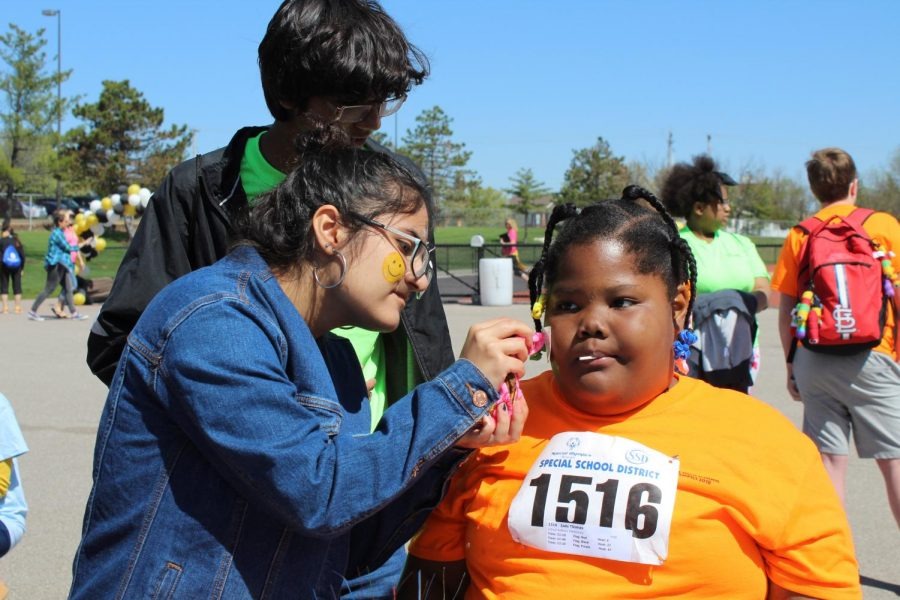 Students get involved in Special Olympics
