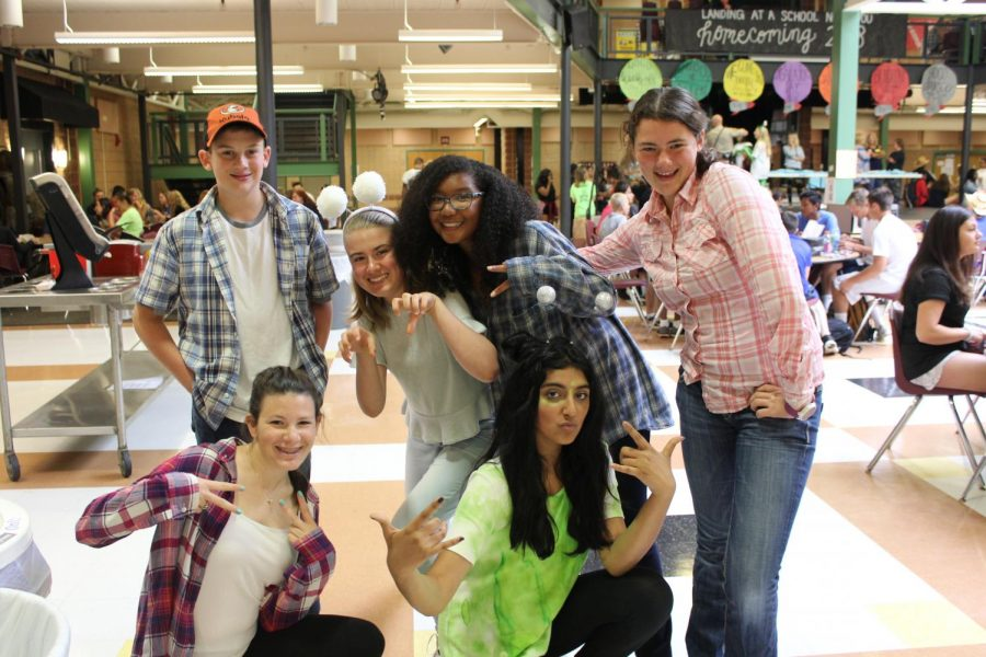 Homecoming Spirit Week blasts off with Alien vs. Cowboy day