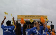 STUCO participates in St. Jude's Walk/Run to End Childhood Cancer