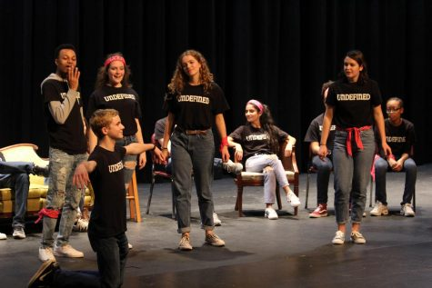 Undefined improv show supports breast cancer research