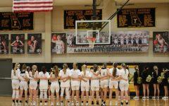 Girls basketball hosts Marquette for Senior Night