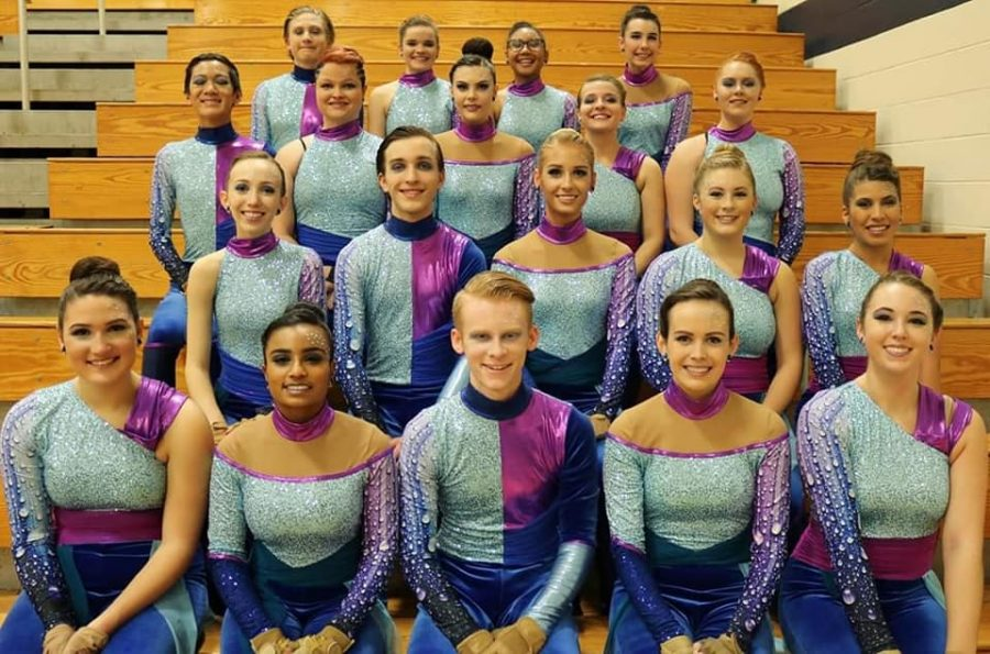 The Lafayette Winter Guard improved dramatically since last year.