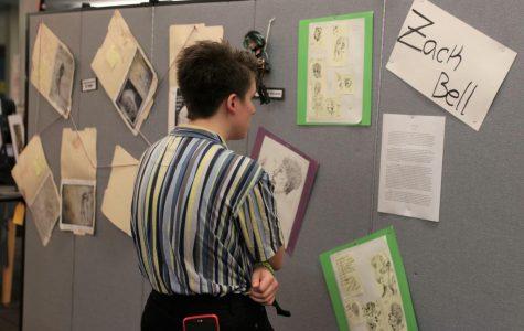 AP Art Studio Show showcases student work