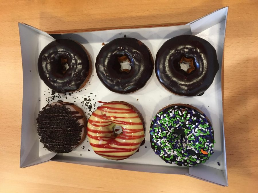 Duck Donuts allows customers to create their own donut.