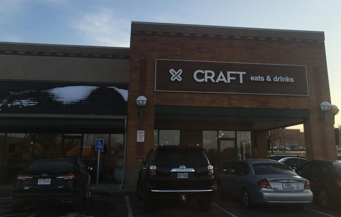 Craft Eats and Drinks is located on 16524 Manchester Rd. and offers a wide range of food to its customers.