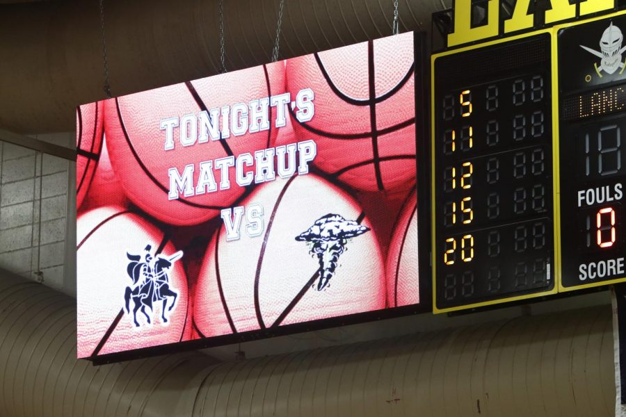 On Dec. 19, Lafayette installed a 6x11 LED video board to be placed next to the current scoreboard.